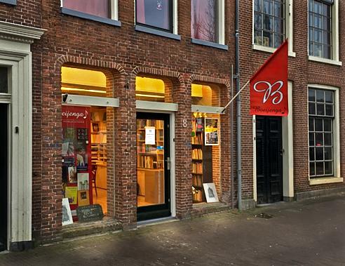 Bestellen van boeken for Exterieur winkel